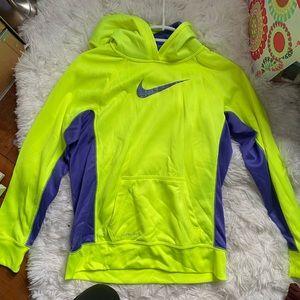 Neon Nike sweatshirt